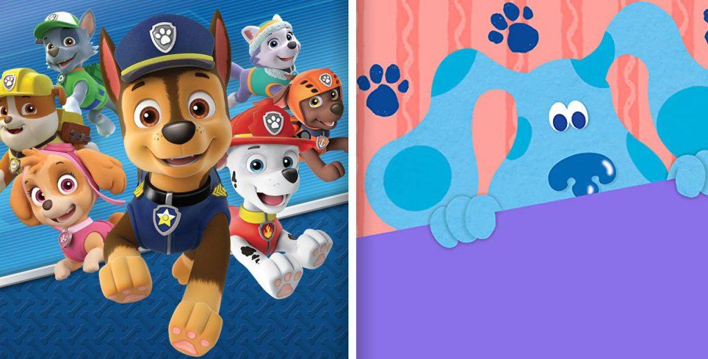 'Paw Patrol' dan 'Blue's Clues', diantara akan melakukan pembaruan Prasekolah Nickelodeon