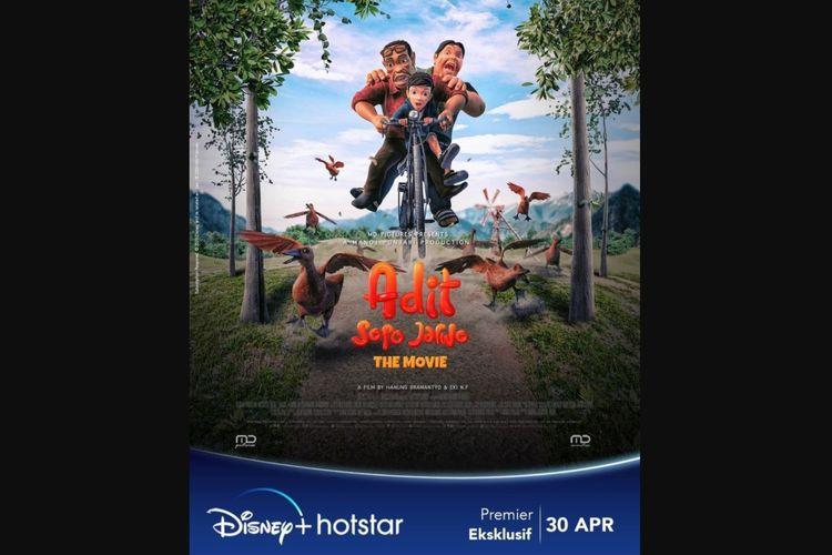 Adit & Sopo Jarwo The Movie di Disney+ Hotstar: Setelah serial animasinya, sekarang giliran filmnya