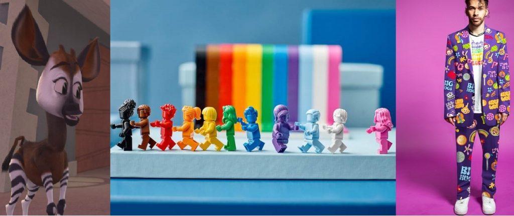 Memperingati Bulan LGBT Lego Dan Teletubies merilis produk baru.