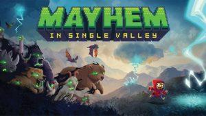 Mayhem in single valley: video game yang menggabungkan tema Stranger Things dan Zelda menjadi satu kesatuan unik.