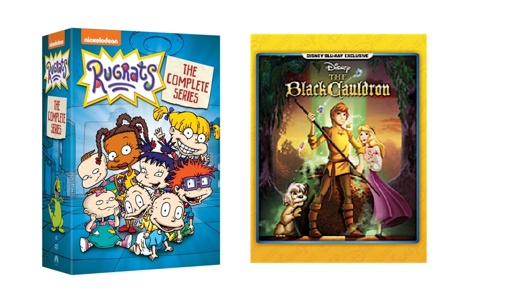 Nickelodeon rilis Set DVD Rugrats Film Animasi Black Cauldron mendapatkan Versi Blue ray