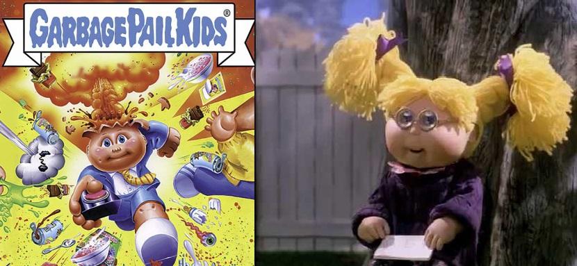 Garbage Pail Kids Versi Parodi dari Cabbage Patch Kids Di bikin menjadi seri animasi