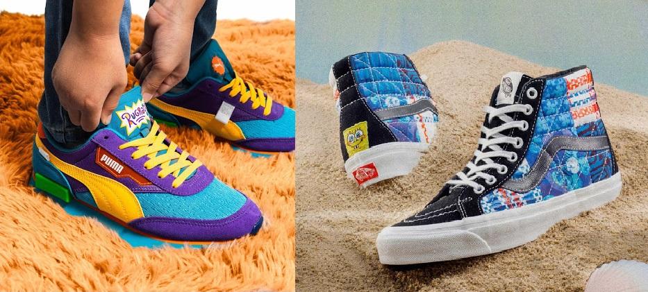 Merek Sepatu Puma dan Vens Mulai Menyasar Ke Nickelodeon.