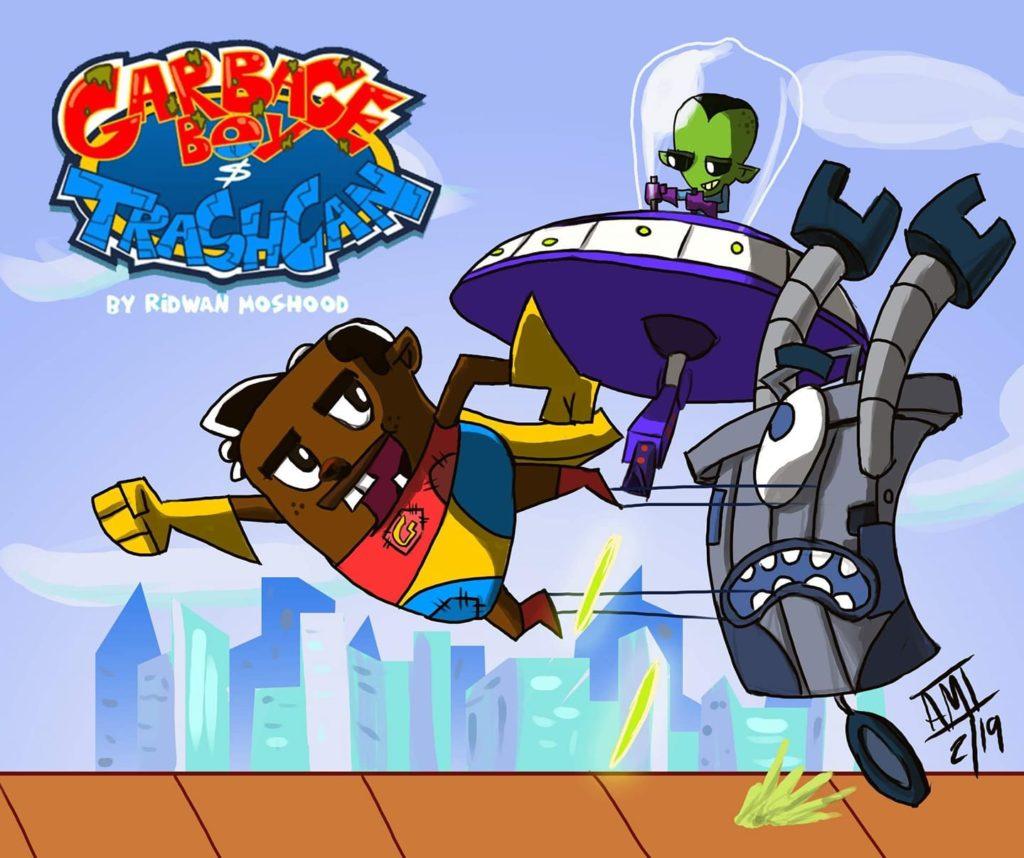 Cartoon network afrika memberikan lampu hijau untuk kartun originalnya Garbage Boy and Trash Can