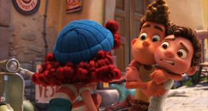 Review film animasi Disney•Pixar Luca beserta list pengisi suara Bahasa Indonesianya