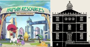 Netflix mengumumkan kartun animasi dewasa Spin off Big Mouth Human Resources dan The House