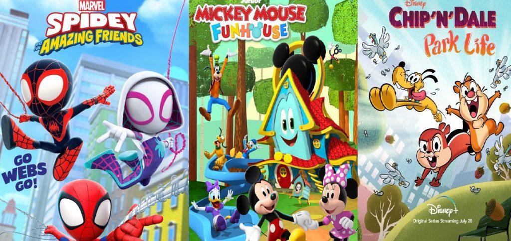 Walt Disney Resmi merilis tanggal tiga kartun Seru sekaligus pada Musim Panas 2021 Ini!