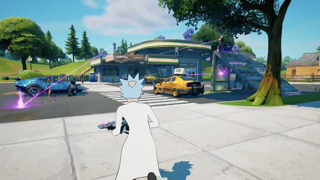 Fornite season 7 menampilkan Rick Sanchez Dari Kartun Rick And Morty Pada Battle Passnya