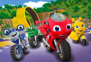 Sembari Tayang di RTV untuk Musim 1, Ricky Zoom Pesan Musim 2 Untuk Nickelodeon internasional termasuk Indonesia