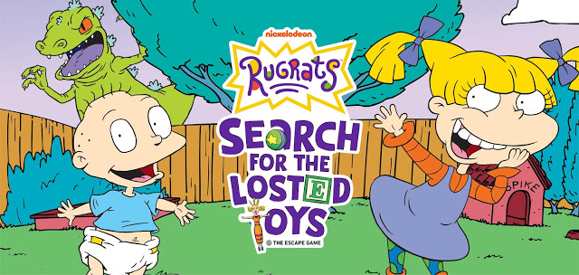 Rugrats dari Nickelodeon Rilis Permainan Online'Rugrats: Search for the Losted Toys'