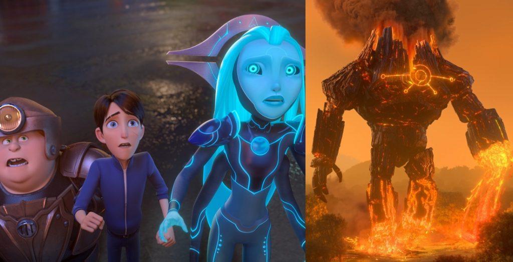 Attack On Titan Versi Dreamworks!. Netflix merilis Trailer Trollhunters: Rise of the Titans
