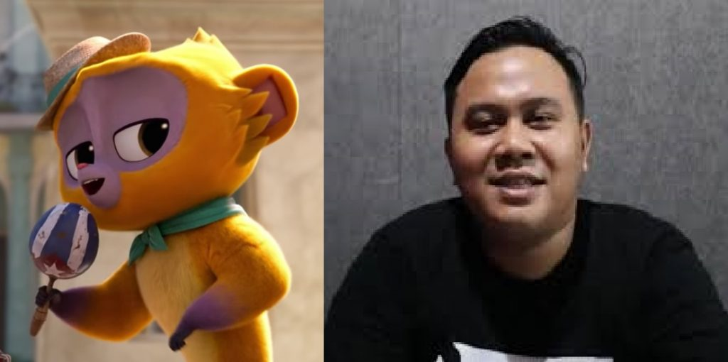 Byas Maulana Diputra Menjadi Seiyuu vivo di Film animasi Vivo Versi Bahasa Indonesia