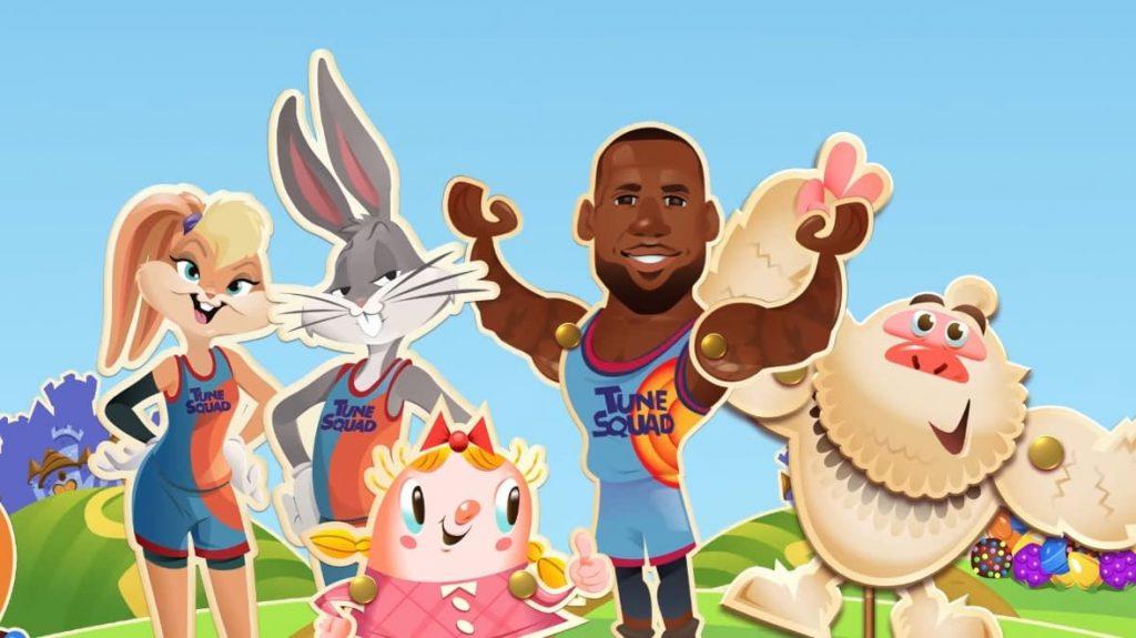 Apa Jadinya Jika Atlet Basket Masuk Ke Dunia Permen? Penampilan LeBron James, Tokoh Utama Sekuel Space Jam Hadir di Candy Crush Saga