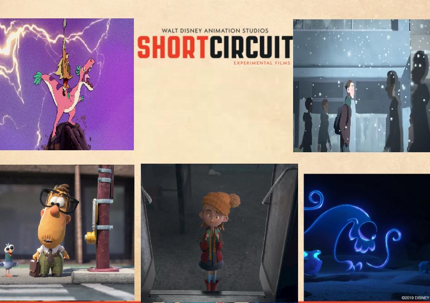 Walt Disney Plus Short Circuit Season 2 ungkap Judul episode animasi pendek 2D