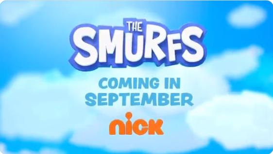 Nickelodeon resmi menayangkan kartun reboot Smurf pada bulan September 2021