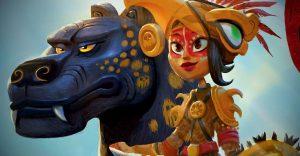 Netflix Menerbitkan Buku? Dark Horse Luncurkan Buku Konsep 'Maya and the Three'