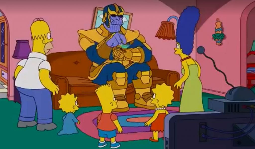 Sesudah Berkolaborasi dengan Star Wars Kini The Simpsons Mulai menyambang Loki di Marvel