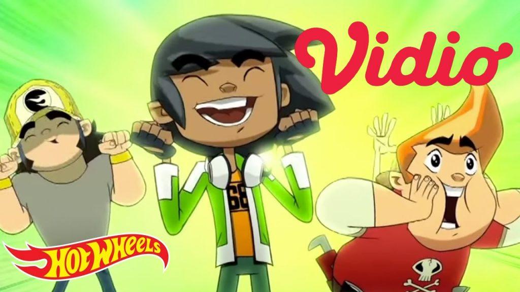 Kini FIlm Kartun Team Hot Wheels bisa anda tonton di vidio.com dalam bahasa indonesia!