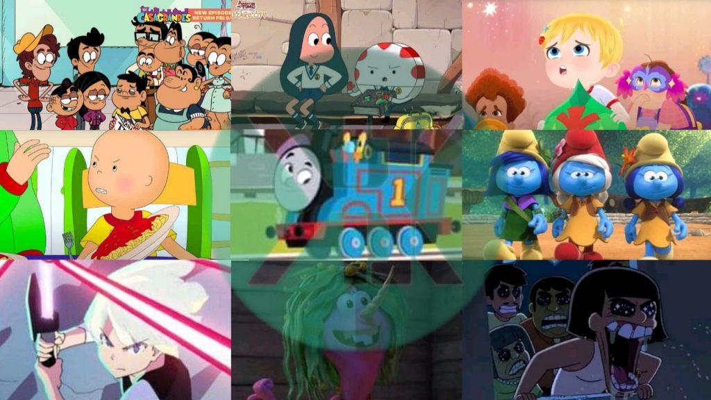 Berikut Jadwal Disney Junior Cartoon Network dan Nickelodeon Amerika September 2021