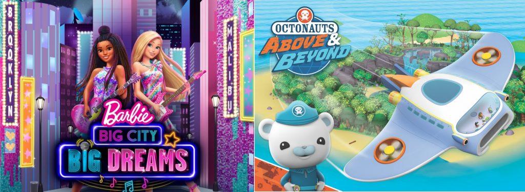 Barbie Kembali hadir dengan animasi Baru untuk meraih mimpi mu di kota yang besar
