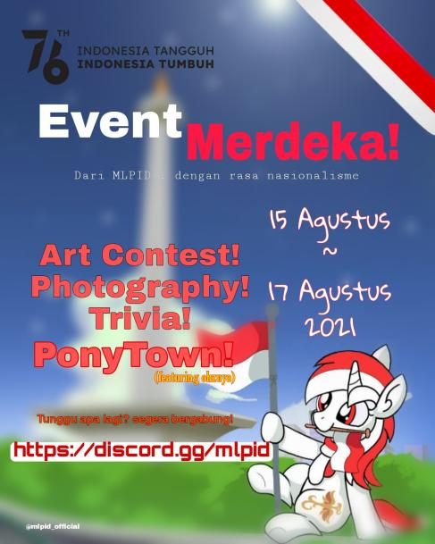 My Little Pony Indonesia Kembali mengadakan acara kemerdekaan dengan kontes seru!