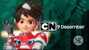 Seri animasi Mechamato Rilis di Cartoon network indonesia pada 4 Desember 2021