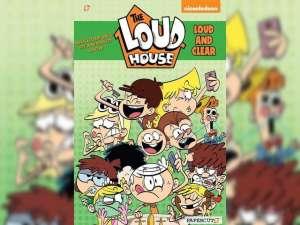 Papercutz merilis komik terbaru Loud House Beserta judul komik lainnya