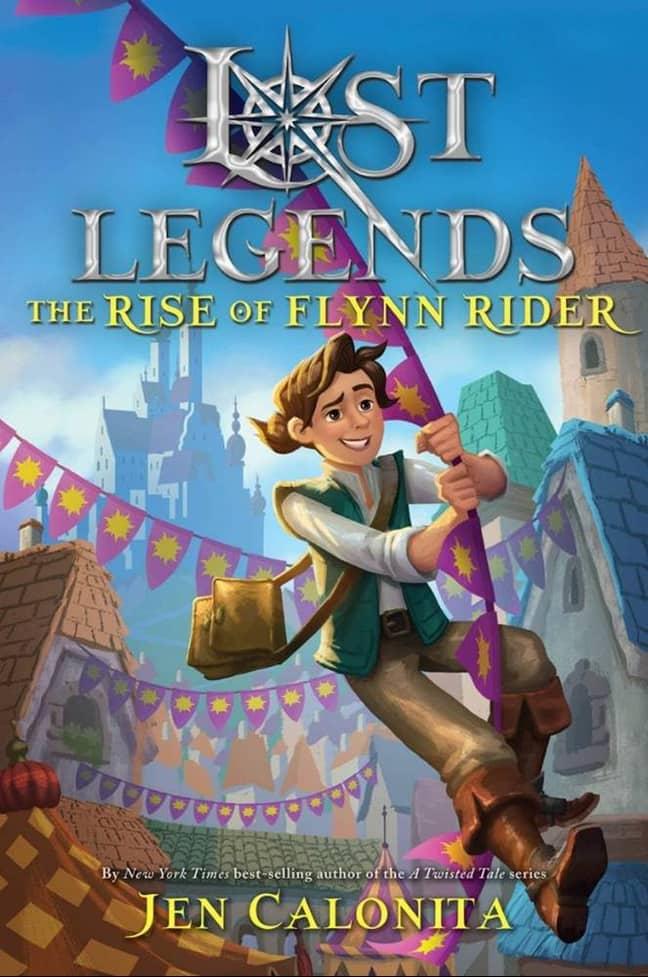 """""""Lost Legends: The Rise of Flynn Rider"""" Jika Film Disney Tangled Dijadikan Buku"""