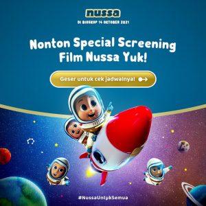 Yuk Ajak Buah Hati Belajar Islam bersama Nussa dalam Nussa The Movie, Akan Tayang di Bioskop 14 Oktober 2021!