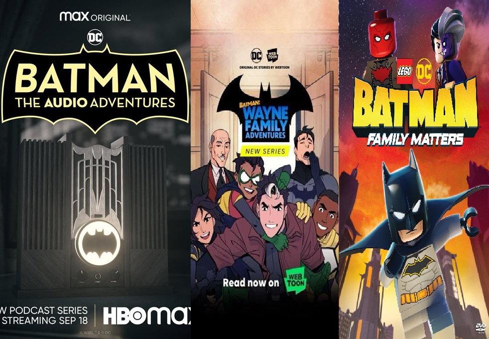Rayakan BATMAN DAY 18 September nanti Dengan Webtoon dan Podcast Baru