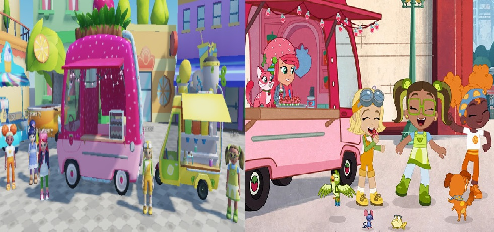 Strawberry Shortcake kolaborasi dengan Roblox menyambut seri kartun baru animasinya