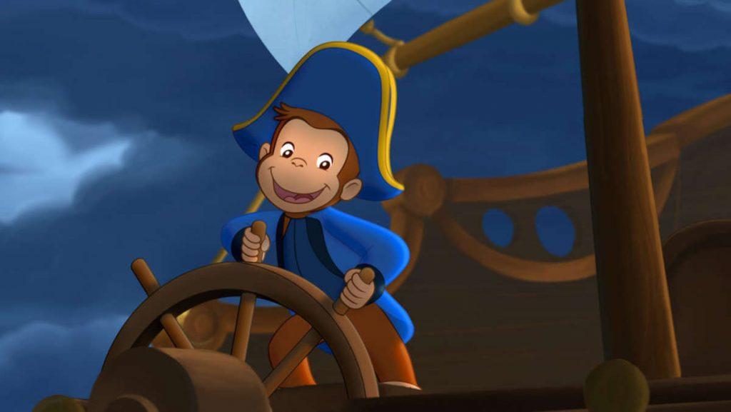 Curious George Kembali menjadi Bajak Laut dengan spesial Curious George: Cape Ahoy