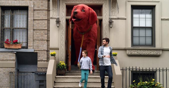 Clifford the Big Red Dog dirilis serentak di bioskop indonesia dan Paramount +
