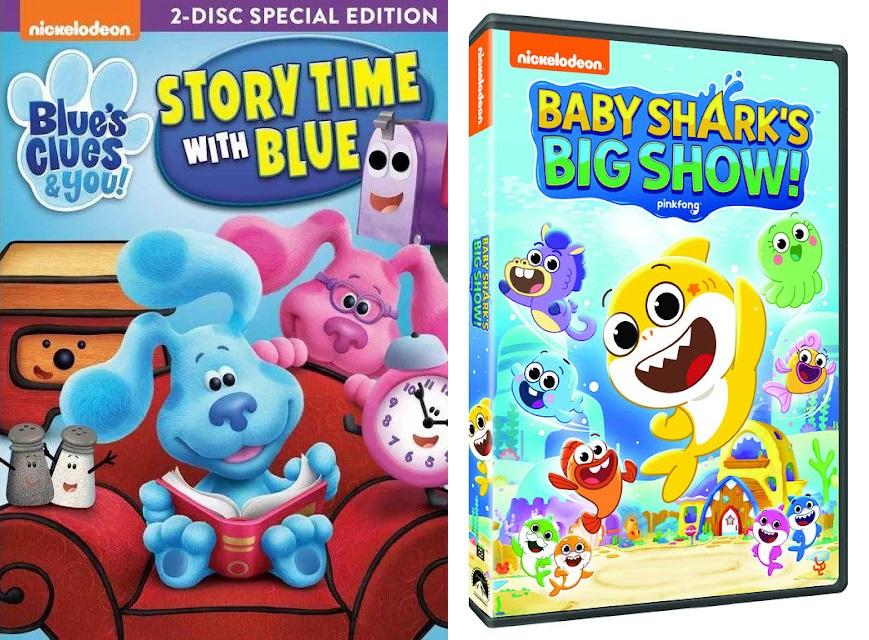 Nickelodeon Rilis 2 Serial Animasi Prasekolah dalam Bentuk DVD