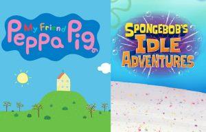 Mainkan Game Baru SPONGEBOB'S IDLE ADVENTURES dan My Friend Peppa Pig