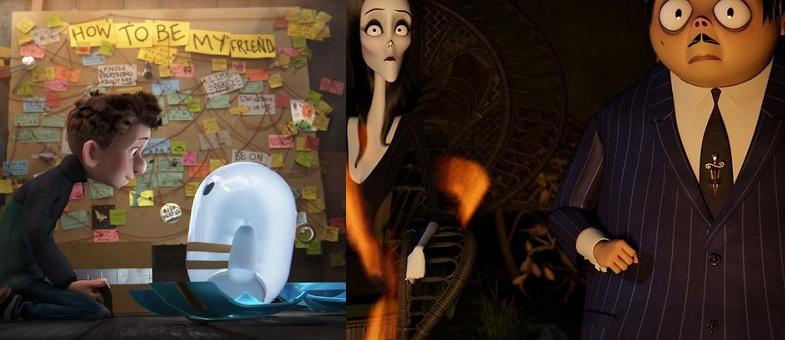 Ron's Gone Wrong Dan The Addams Family 2 Menayangkan trailer keduanya