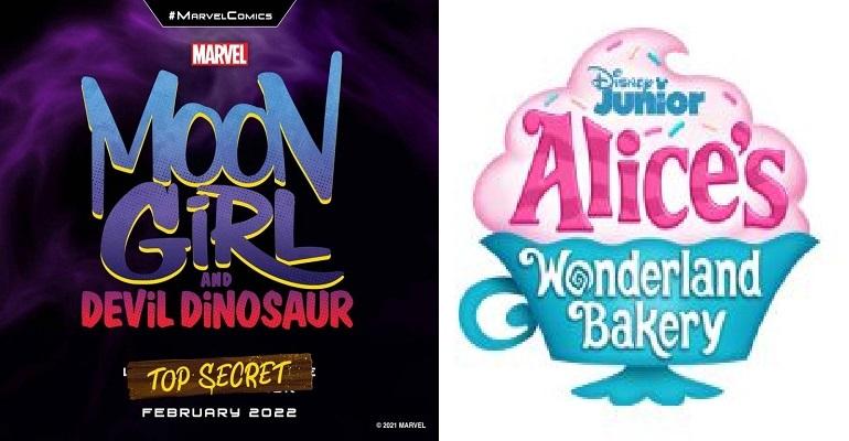 Marvel Moon Girl And Devil Dinosaur Dan Disney Alice's Wonderland Bakery SIap debut Febuari 2022