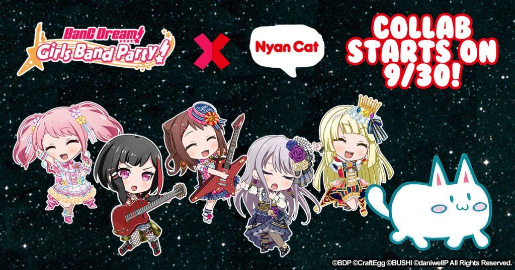 """Tepat 1 Tahun,Yuk Intip Cerita Kolaborasi """"BanG Dream x Nyan Cat"""" Ini"""