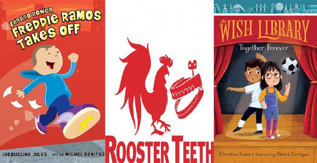 Studio Animasi Rooster Teeth Mulai Fokus ke seri animasi anak anak meluncurkan 'Zapato Power' dan'Wish Library'