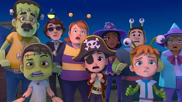 Netflix Mengumumkan Episode Spesial Halloween Seri Animasi 'SharkDog'