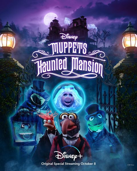 Menyabut Hallowen Disney+ Mengungkapkan Muppets Haunted Mansion