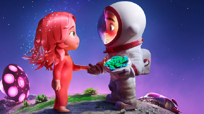 Apple TV+ merilis trailer animasi pendek bertajuk Blush