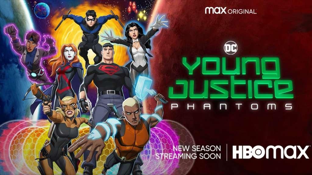 Jangan Lewatkan Hal sedikitpun dari sekedar poster Young Justice Musim 4