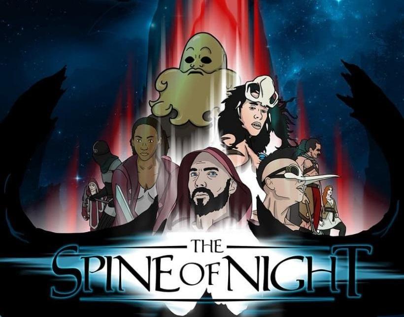 Butuh asupan Film animasi Dewasa?, Spine of the Night Jawabannya. Rilis Trailer Perdana
