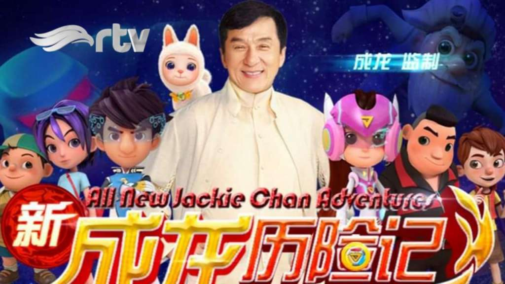 Seri animasi Jackie Chan baru 'All New Jackie Chan Adventures' Hadir di RTV