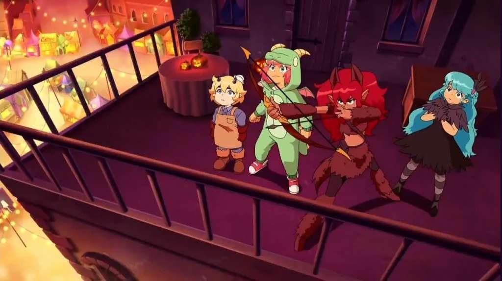 Seri Kartun Crunchyroll High Guardian Space Rilis tanggal resmi dan trailer baru!